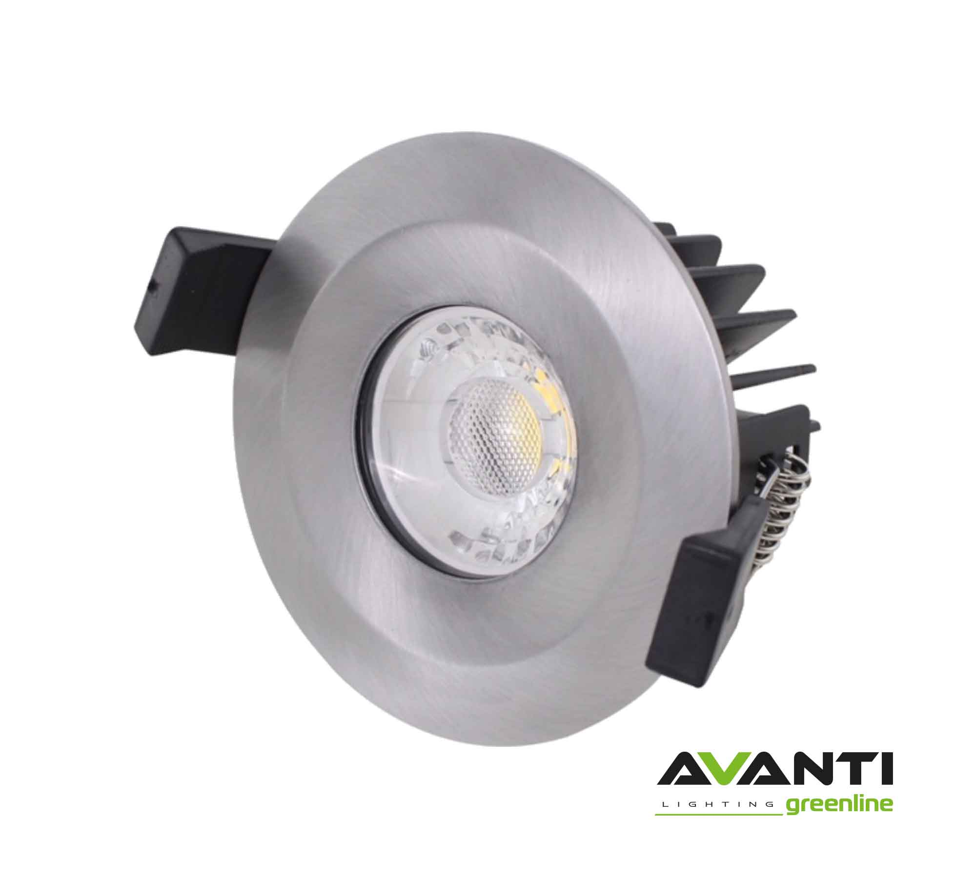 Brushed-Chrome-Fire-Rated-Downlight