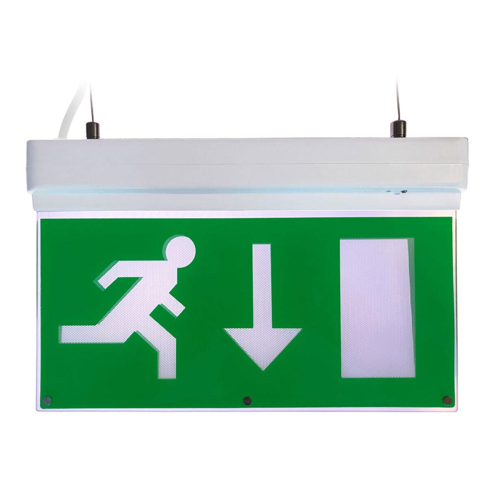Flexi in 1 Emergency Exit Sign