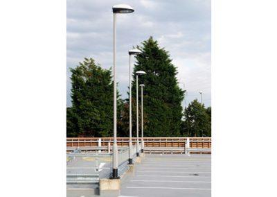 Street lighting - Columns in situ