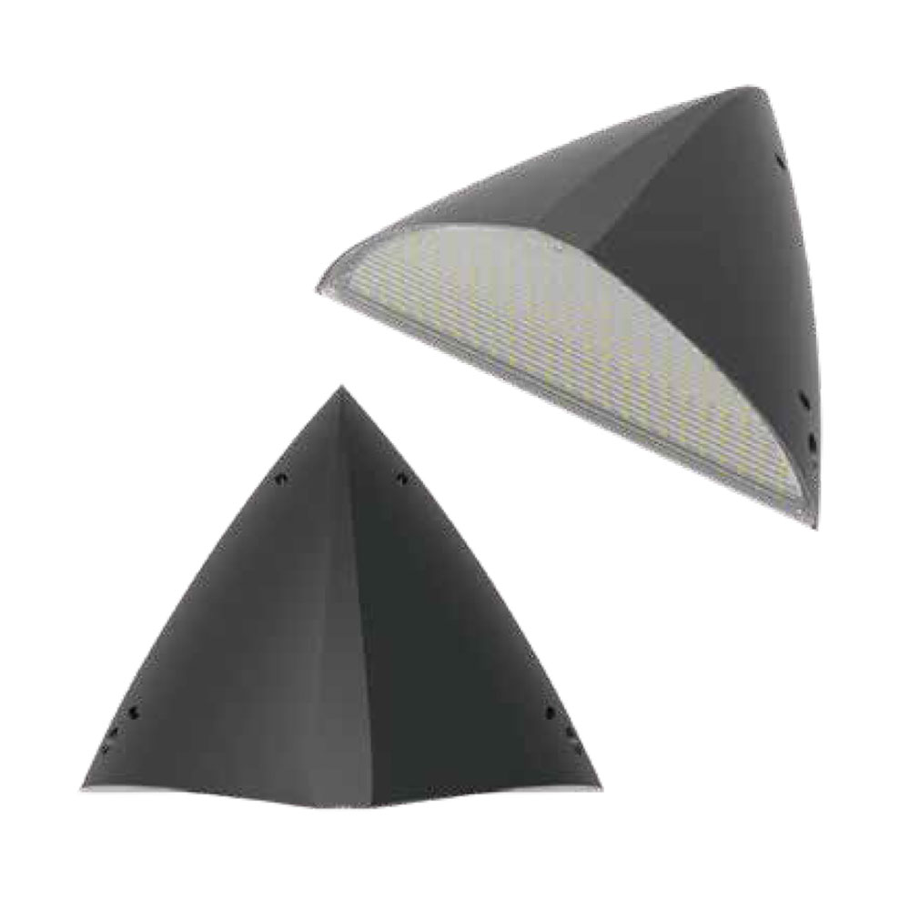 FIN ip65 led wall pack